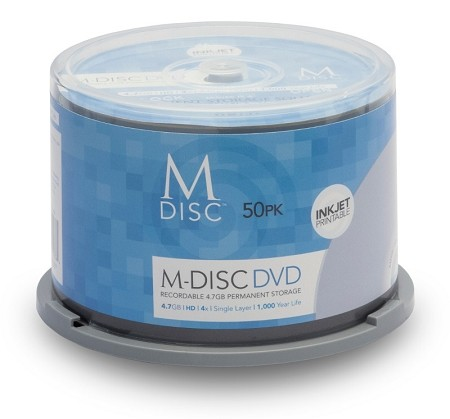 M-DISC™ DVD 50 Pack