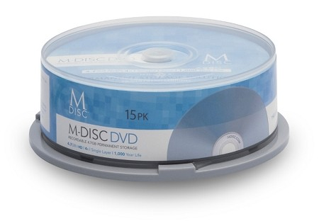 M-DISC™ DVD 15 Pack