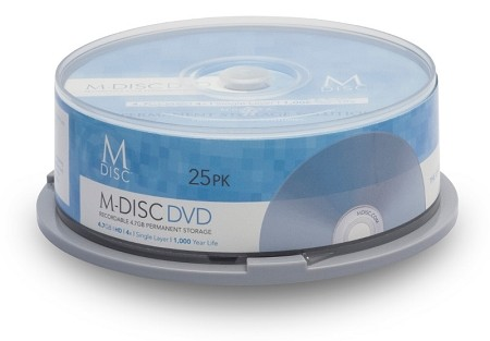 M-DISC™ DVD 25 Pack